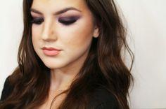 haifa wehbe inspired tutorial. celebrity makeup.  www.iamalizarin.blogspot.com