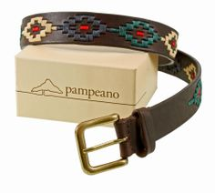 Belting good gift - Pampeano are makers of Argentinian leather belts inspired by polo. Luckily, you don't have to have a collection of polo ponies or hobnob with minor (or major) royals to appreciate the range