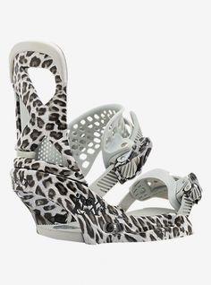 2a30d2b81 Burton Women's Lexa Snowboard Bindings - Snow Leopard - Burton Snowboards,  Boots, Bindings & Outerwear Now In Stock at Subvert Boardstore.