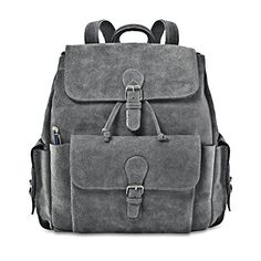 David King Co BackPack with FlapOver Pockets Gray One Size     Read more at 7b3c408f0e52c