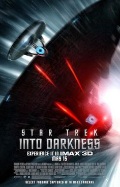 "New ""Star Trek Into Darkness"" IMAX poster, clip and image...Where did Sherlock get that ship??!"