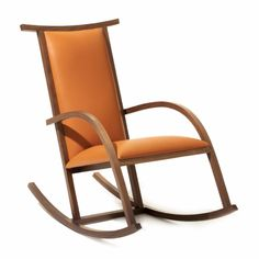 Exceptionnel Drawing Inspiration From The Graceful Lines Of The Barcelona Chair, Carlos  Riart Designed The Riart Rocker To Celebrate The Fiftieth Anniversary Of  Miesu0027s ...