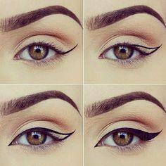 Tuto pour un trait d'eyeliner parfait en deux temps, trois mouvements