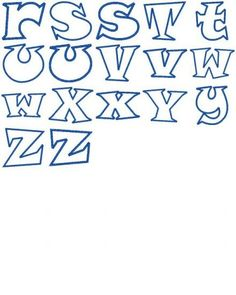 New Embroidery Letters Fonts Applique Designs Ideas Alphabet A, Fonte Alphabet, Doodle Lettering, Lettering Styles, Lettering Tutorial, Letras Comic, Embroidery Letters, Embroidery Fonts, Machine Embroidery