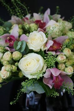 January 16: Everytime my husband goes shopping alone with the kids, they choose a fresh bouquet of flowers for mommy.