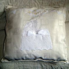 Christening Cushion, Gift of Love Christening, Baby Items, Bed Pillows, Cushion, Gifts, Stuff To Buy, Ebay, Pillows, Presents