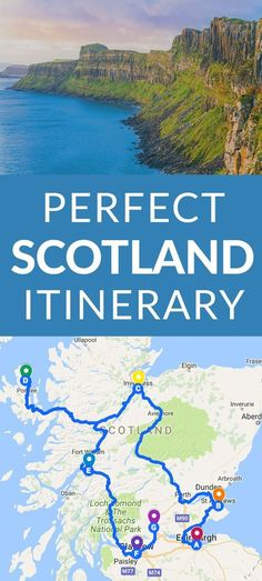 Perfect Scotland Itinerary Scotland is an Incredible, Wild, Historic, Mystical Country that Just Begs to be Visited. If Scotland is Calling you, The Perfect Scotland Itinerary for You. Scotland Road Trip, Scotland Vacation, Scotland Travel, Ireland Travel, Visiting Scotland, Glasgow Scotland, Scotland Sightseeing, Aberdeenshire Scotland, Aberdeen Scotland