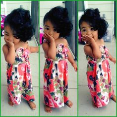 This little girl - my future daughter! #blasian #dominican