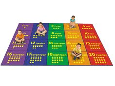Learning to Count Activity Carpet - 9' x 12'