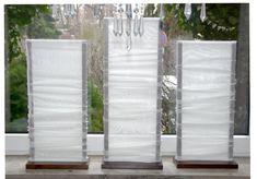 Gardinen - stehende Gardinen - ein Designerstück von stehga bei DaWanda