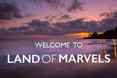 Welcome to Land of Marvels!