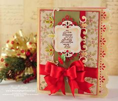 designed by Becca Feeken using JustRite Christmas Trimmings-Blessings of the Season