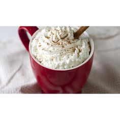 Pumpkin-Spice Latte ❤ liked on Polyvore featuring pictures, food, red, backgrounds and photos