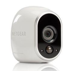 Netgear Arlo Smart Home Indoor Outdoor Wireless HD Security Camera Set, White