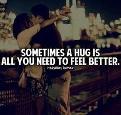 just a hug =)