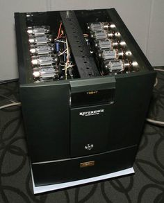 The air tight reference mono block amplifier
