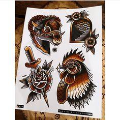 OLDLINES — #flash by @marvin_diekmaennken  #tattoos...