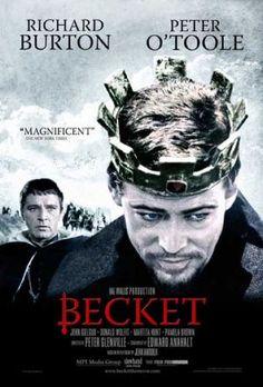 Becket 1964 Richard Burton and drinking buddy Peter O'Toole