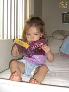 Bedtime Stories 2 - AwkwardFamilyPhotos.com