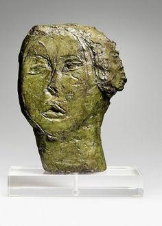Alberto Giacometti (1901-1966) Tête de femme (Flora Mayo), 1927