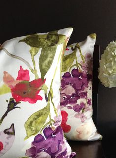Pillow Cover Floral Luxorious Pillow Cover by StudioPillows