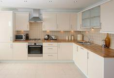 угловая планировка в дизайне кухни