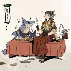 Home / Twitter Monster Hunter Games, Monster Hunter Series, Monster Hunter World, Cute Anime Character, Character Art, Rise Art, Cosplay, Game Character Design, Fantasy Rpg