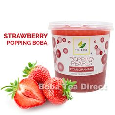 Strawberry TeaZone Popping Pearls GOURMET-Series (7-lbs)