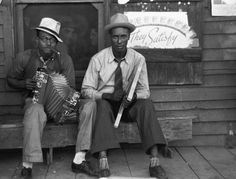 Zydeco players, Louisiana, 1938  Russell Lee