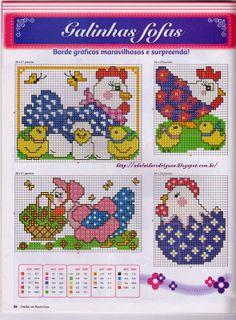 Chicken perler bead pattern