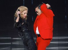 Madonna balla il 'Gangnam Style' al Madison Square Garden insieme a Psy