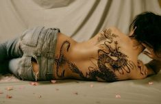 These are the Most Beautiful Dragon Tattoos For Girls.These are some selected Dragon tattoo designs you should check for yourself Dragon Tattoo Back, Dragon Tattoo For Women, Japanese Dragon Tattoos, Dragon Tattoo Designs, Tattoos For Women, Tattoo Girls, Tattoo Designs For Girls, Tattoo Designs Men, Sexy Tattoos