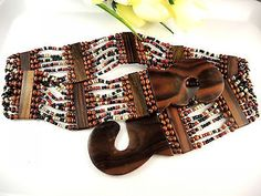 Woodworking Projects Plans, Teds Woodworking, Stretch Belt, Red Black, Natural Wood, Belts, Free Shipping, Pattern, Crafts