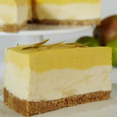 Mango & Lime Cheesecake from The English Cheesecake Company