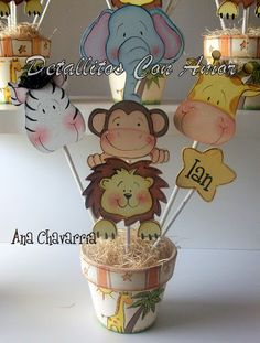 "Baby Shower tema ""Jungla"""