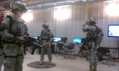 Pennsylvania National Guardsmen train for war with new, state-of-the-art battlefield simulator.