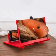 Mobile phone screen magnifier can Improve picture quality and effects, zoom in times on screen. It can picture clear and vivid, dynamic feeling stronger! Also Can Be a Perfect Phone Holder. Super Mario Party, 3d Mobile, Mobile Phones, Media Mobile, Appel Video, Iphone, Phone Projector, Support Telephone, 3d Video