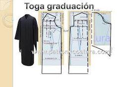 Resultado de imagen para togas de graduacion moldes