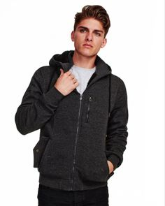 Industrie Clothing | Online Store - THE WYOMING KNIT HOODIE Online Clothing Stores, Wyoming, Hoodies, Knitting, Jackets, Clothes, Fashion, Down Jackets, Outfits