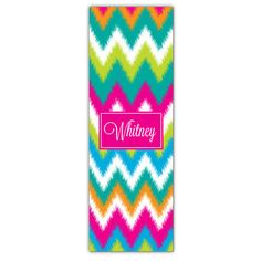 Fuzzy Fun Personalized Yoga Mat
