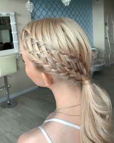 Amazing by lova_studio quot; Easy Hairstyles For Long Hair, Box Braids Hairstyles, Girl Hairstyles, Female Hairstyles, Hairstyles Videos, Hairstyle Men, Style Hairstyle, Hairstyles 2018, Wedding Hairstyles