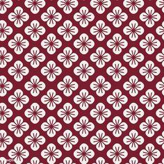 Seamless Japanese pattern with floral motif vector Motif Vector, Vector Pattern, Vector Design, Vector Free, Pattern Design, Design Art, Free Design, Batik Pattern, Oriental Pattern