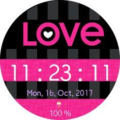 Love love love watchface Samsung Gear S2  S3 | Watch Faces