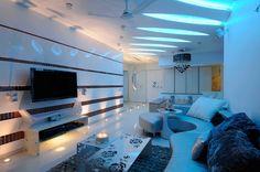 Small blue ceiling light lighting pinterest blue ceilings blue ceiling light mozeypictures Images