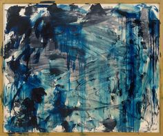 Howard Hodgkin: Lagoon Discover the coolest shows in New York at… Tachisme, Richard Diebenkorn, Action Painting, Blue Abstract Painting, Abstract Landscape, Jackson Pollock, Howard Hodgkin, Modern Art, Contemporary Art