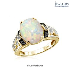 Zales Mothers Pear-Shaped Birthstone and Diamond Accent Cluster Ring (6 Stones) 0gLsXe