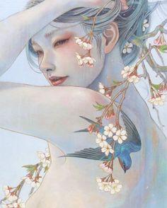 Miho Hirano /平野実穂 | Pop Fantasy Art | Tutt'Art@ | Pittura * Scultura * Poesia * Musica |