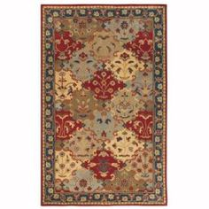 Home Decorators Collection Stratton Blue 8 ft. x 11 ft. Area Rug  on  Daily Rug Deals