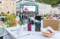Die schönste Verbindung von Kunst und Kulinarik in Salzburg mit dem IMLAUER Restaurantzelt am Kapitelplatz und den Siemens Fest>Spiel>Nächten. Catering, Restaurant, Salzburg, Table Decorations, Home Decor, Mediterranean Dishes, Banquet, Non Alcoholic Drinks, Food Menu