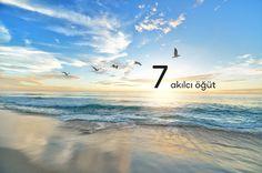 Huzurlu ve güzel bir hayat için bu 7 önemli öğüdü hayatınıza mutlaka dahil edin. Bu 7 doğru öğüdü mutlaka uygulayın.